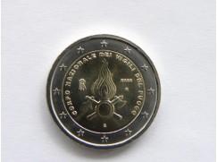 2 euro mince sběratelské Itálie 2020 - Hasiči - UNC