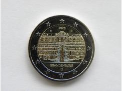 2 euro mince sběratelské Německo 2020 - Brandenburg 5 ks- UNC