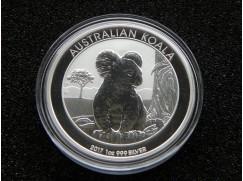 Stříbrná mince Australian Koala 2017 - 1 OZ