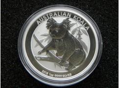 Stříbrná mince Australian Koala 2018 - 1 OZ