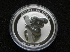 Stříbrná mince Australian Koala 2020 - 1 OZ