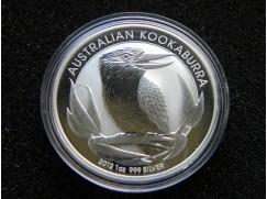 Stříbrná mince Australian Kookaburra 2012  1 OZ