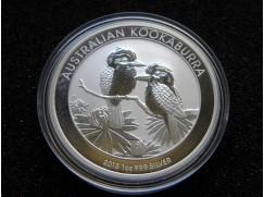Stříbrná mince Australian Kookaburra 2013  1 OZ