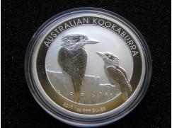 Stříbrná mince Australian Kookaburra 2017  1 OZ