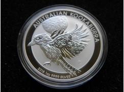 Stříbrná mince Australian Kookaburra 2018  1 OZ