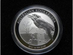 Stříbrná mince Australian Kookaburra 2016  1 OZ