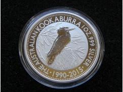 Stříbrná mince Australian Kookaburra 2015  1 OZ