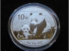 Stříbrná mince Panda 1 OZ 2012