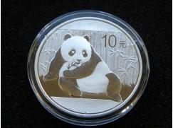 Stříbrná mince China Panda 1 OZ 2015