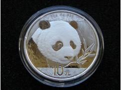 Stříbrná mince China Panda - 30g - 2018