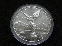Stříbrná mince Libertad 1 OZ 2010
