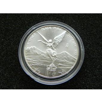 Stříbrná mince Libertad 1 OZ 2012