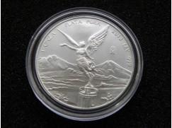 Stříbrná mince Libertad 1 OZ 2013