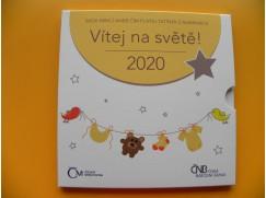 Sada oběžných mincí 2020 - Narození  dítěte - standard