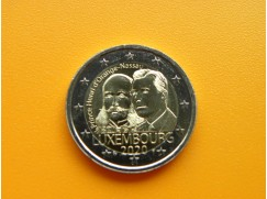 2 euro mince sběratelské Lucembursko 2020 - princ Jindřich - UNC