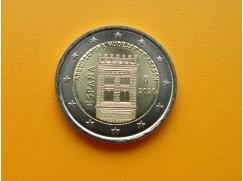 2 euro mince sběratelské Španělsko 2020 - Aragonie - UNC