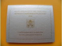 2 euro mince sběratelské Vatikán 2020 - Jan Pavel II - UNC