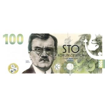 bankovka 100.-Kč/2022 - Karel Engliš