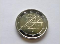 2 euro mince sběratelské Finsko 2020 -100 let univerzity Turku - UNC
