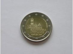 2 euro mince sběratelské Portugalsko 2020 - 730 let od založení univerzity v Coimbře - UNC