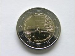 2 euro mince sběratelské Německo 2020 - Varšava 5 ks- UNC