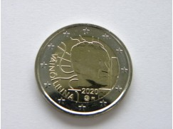 2 euro mince sběratelské Finsko 2020 -100 let od narození Väinö Linny - UNC