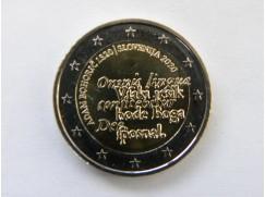 2 euro mince sběratelské Slovinsko 2020 - UNC