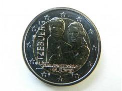 2 euro mince sběratelské Lucembursko 2020 - Narození knížete Karla Lucemburského - UNC - Reliéf