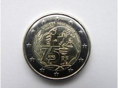 2 euro mince sběratelské Francie 2021 - UNICEF - UNC