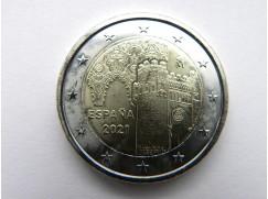 2 euro mince sběratelské Španělsko 2021 - Toledo- UNC