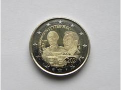 2 euro mince sběratelské Lucembursko 2021 - Jean foto - UNC