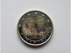 2 euro mince sběratelské Lucembursko 2021 - svatba foto - UNC