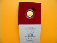 sada zlaté mince válečný rok 1944 - proof