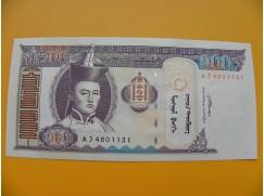 bankovka 100 mongolských tugriků/2008