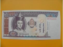 bankovka 100 mongolských tugriků/2014