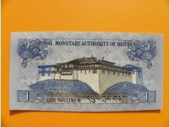bankovka 1 ngultrum /2013 - série I