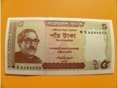 bankovka 5 taka/2015 UNC