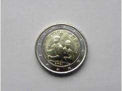 2 euro mince sběratelské Itálie 2021 - Poděkování zdravotníkům - UNC
