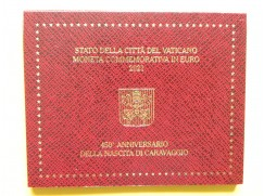 2 euro mince sběratelské Vatikán 2021 - Caravaggio