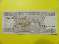 bankovka 5 afghání