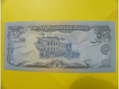 bankovka 50 afghání