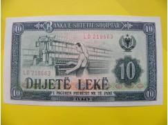 bankovka 10 leků - série LD