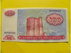 bankovka 100 manatů - série BA