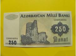 bankovka 250 manatů - série CA