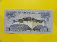 bankovka 1 ngultrum - série I
