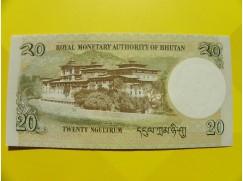 bankovka 20 ngultrum - série L