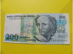 bankovka 200 cruzeiros - série A