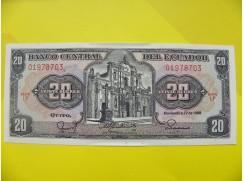 bankovka 20 sucres - série LP