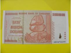 bankovka 50 miliard Zimbabwských dolarů - série AB
