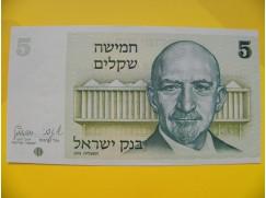 bankovka 5 šekelů - Izrael